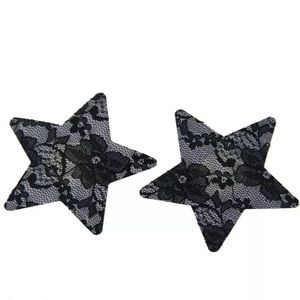 Other - 2 Pairs Star Pasties Breast Nipple Cover